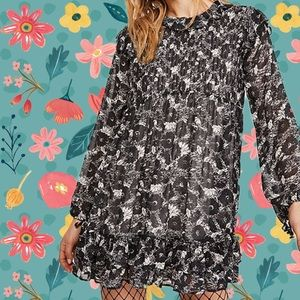 Free People These Dreams Mini Dress Tunic Floral